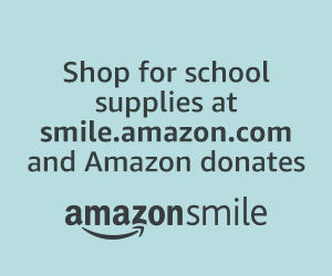 Shop for school supplies at smile.amazon.com and Amazon donates